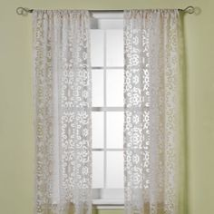 Just Purchased These And Canu0027t Wait For Them To Arrive. So Summery And  Elegant. Smith Jafaro Burnout Window Curtain Panels   Bed Bath U0026 Beyond