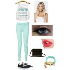 A fashion look from June 2015 by katy-nes-cata featuring Tommy Hilfiger, Vans, Lacoste, With Love From CA and Charlotte Tilbury