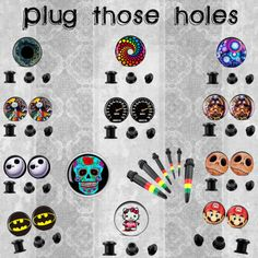 """""""Plug those holes!"""" by chaoticclothing-101 on Polyvore"""