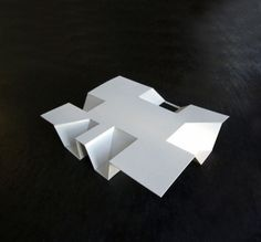 Hanover House – Conceptual model, image courtesy of Kraus Schoenberg Architects Architecture Panel, Concept Architecture, School Architecture, Architecture Design, Maquette Architecture, Drawing Architecture, Chinese Architecture, Architecture Portfolio, Hanover House