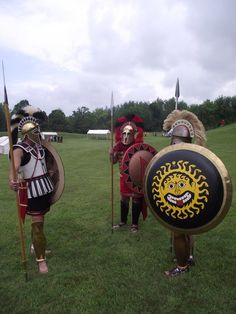 Greek Hoplites 2 by WestytheTraveler on DeviantArt Greek Soldier, Roman Armor, Greek Warrior, Greek History, Dark Ages, Historical Pictures, Ancient Romans, Macedonia, Ancient Greece