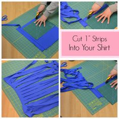 How To Cut T-Shirt Yarn