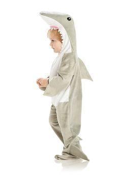 Amazon.com: Underwraps Baby's Shark, Grey/White, Large: Clothing