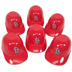 Amazon.com: St. Louis Cardinals Official MLB 8oz Mini Baseball Helmet Ice Cream Snack Bowls (6) by Rawlings: Sports & Outdoors