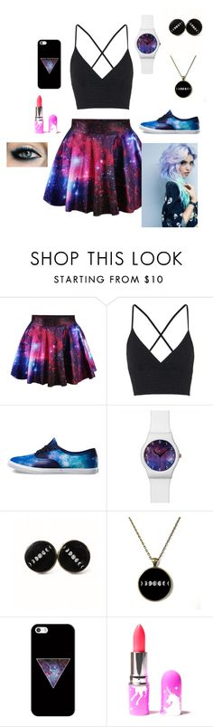 """Untitled #3"" by brireeder on Polyvore featuring Topshop, Vans, Casetify and Lime Crime"