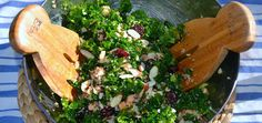 Nourish yourself from the inside out with this warm and comforting kale and quinoa salad. Quinoa offers complete protein to help you power through the darkening days, and kale boasts enough calcium,