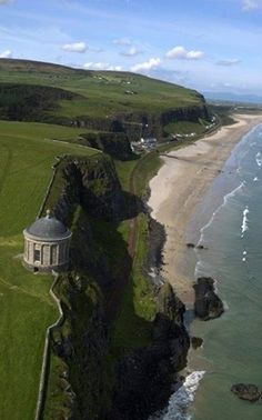 Did you know Northern Ireland's Mussenden Temple was built as a library? It must be difficult to concentrate on a book with a view like this...