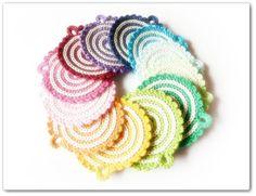 Spiral Coaster/Potholder Pattern