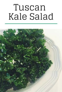 Refreshing Tuscan Kale Salad from Dr. Weil's True Food Kitchen!