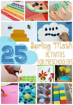 25 Spring Math Activ
