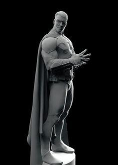 The man behind the Bat , Suad Kapetanovic on ArtStation at https://www.artstation.com/artwork/the-man-behind-the-bat