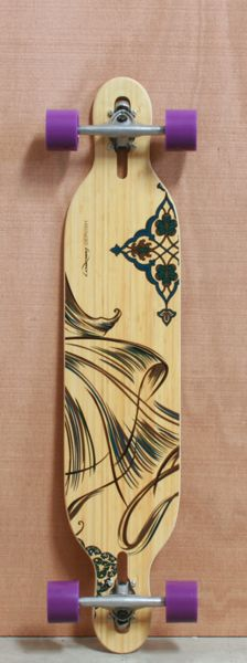 "Loaded 41.5"" Dervish Longboard Complete, Flex 2"