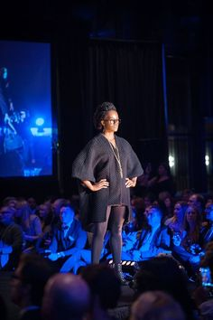 Of mix of designers styled by Emily Kanz. Rumble on the Runway 2015
