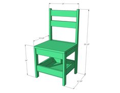 Kids Chair with Storage Carpentry Projects, Easy Woodworking Projects, Wood Arm Chair, Diy Chair, Diy Kids Furniture, Custom Furniture, Kids Craft Tables, Kids Table Chair Set, Bunk Bed Plans