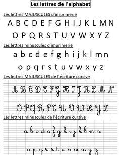 """Résultat de recherche d'images pour """"les lettres cursives"""""""