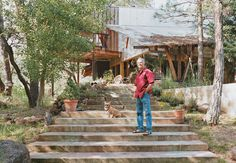 Architect Ken Meffan's ten-years-in-the-making home is in the tiny Northern…