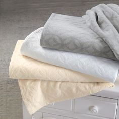 Meridian Textured Cotton Blanket