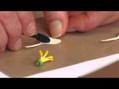 Designing in Susan's Garden with Sizzix Thinlits Columbine Flower Set - YouTube