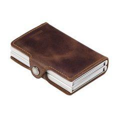 Secrid Twinwallet Vintage lompakko, ruskea – Lompakot ja kukkarot – Laukut ja matkailu – Verkkokauppa.com
