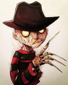 Scary Drawings, Dark Art Drawings, Halloween Drawings, Halloween Art, Cute Drawings, Arte Horror, Horror Art, Arte Alien, Gatos Cool