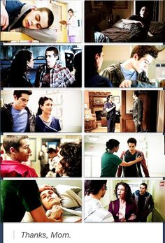 "Teen Wolf ""Thanks mom"""