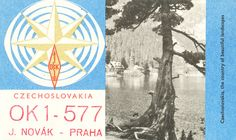 QSL cards mailed to and from radio operators to confirm an exchange. This is the collection of my father; PAoPRF, Amsterdam, 50 's 60 's QSL