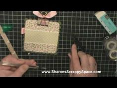 """Check out my video on a cute """"Post It Note Holder"""" using Stampin Up Products.  http://www.sharonsscrappyspace.com/p/video-tutorials.html"""