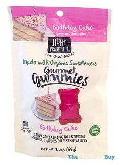 Project 7 Birthday Cake Gourmet Gummies