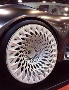Диски Mercedes Benz, распечатанные на 3D-принтере