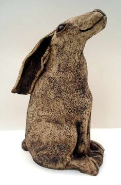 Hare by Maggie Betley from Zoo Ceramics