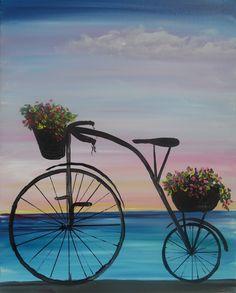 Paint Nite - Beach Bike