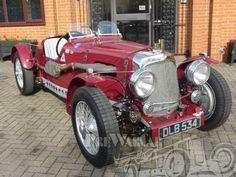 1936 Aston Martin 2 litre Speed Model 2 seater