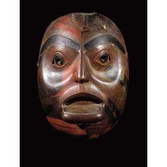 Northwest Coast Mask, 19th century www.fairfieldauction.com
