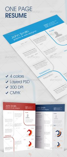 Trendy Job Resume Set Fonts, Creative and Template - television producer resume