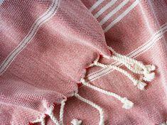 "Hamamtuch gestreift mit handgedrehten Fransen ""Cayenne"", 180 x 100 cm Pajamas, Pajama Pants, Vintage, Fashion, Special People, Fringes, Stripes, Moda, La Mode"