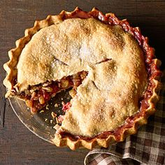Winter Fruit and Walnut Pie | MyRecipes.com. Made this for the family at Thanksgiving, it was a BIG hit!
