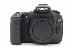 Canon EOS 60D 18.0MP Digital SLR Camera - Black (Body Only) | Cameras & Photo, Digital Cameras | eBay!