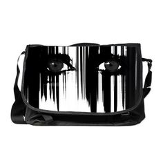 Hiding Behind The Pain Messenger Bag