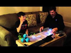 Fun looking game Aiden created using Dash and Dot!
