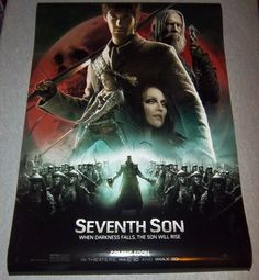 """SEVENTH SON Original Movie Poster, 27""""x 40"""" Size NEW Condition FREE Shipping!"""