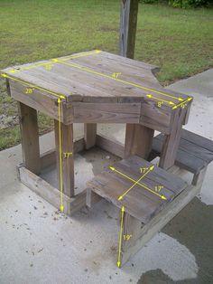 2 person shooting bench idea