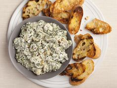 Hot Spinach and Artichoke Dip by Alton Brown