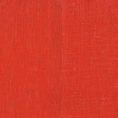 ANICHINI Fabrics | Linen Tweed Coral Residential Fabric - an orange linen tweed fabric