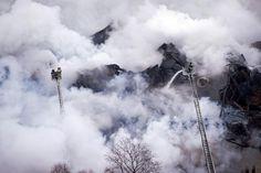 Un incendie dans la plus grande bibliothèque universitaire de Russie | liberation.fr