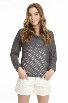 Saturn Sweater by One Grey Day - Tops - Apparel