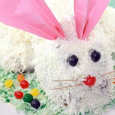 Bunny Carrot Cake - A Cute Easter Dessert