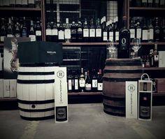 Eine kleine Ecke von unserem Lager Wein Made in Italy