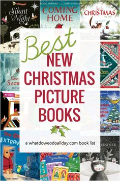 New Christmas Picture Books that Are Sure to Become Classics Best new children's Christmas books that are sure to become well-loved classics that families will want to read year after year! This list is well-rounded and has something for everyone! Childrens Christmas Books, Best Children Books, Christmas Crafts For Kids, Childrens Books, Christmas Activites, Holiday Activities, Preschool Books, Book Activities, Book Club Books