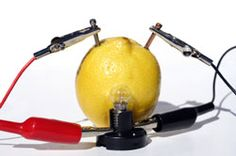 Kitchen Science for Kids: Making a Battery Out of a Lemon