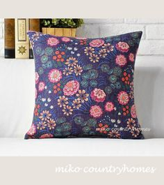 $15 | Nature Inspired | Floral Print | Throw Pillow Cover #throwpillows #pillowcover #floralprint #BUY2GET1